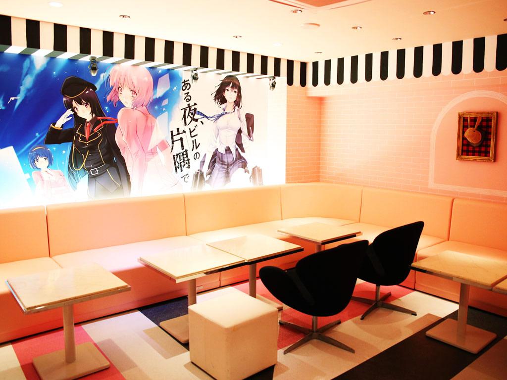大阪なんば コスプレキャバラウンジ ある夜、ビルの片隅で